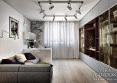 Дизайн проект квартиры с балконом (5)
