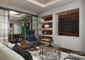 Дизайн проект квартиры от Веры Подзолко (14)
