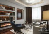 Дизайн проект квартиры от Веры Подзолко (15)