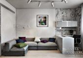 Дизайн проект квартиры с балконом (3)