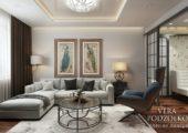 Дизайн проект квартиры от Веры Подзолко (13)