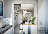 Дизайн проект квартиры с балконом (6)